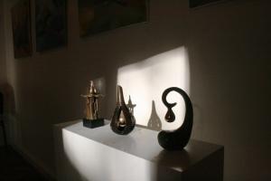Stines skulpturer i lys
